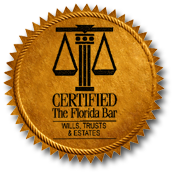 Certified Wills, Trust and Estate Lawyers –The Florida Bar