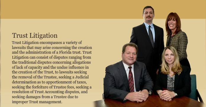 Florida Trust Litigation Lawyer