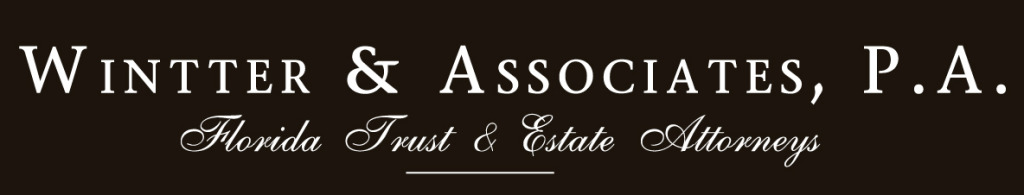 Wintter & Associates, P.A.  - Florida Probate, Trusts & Estate Lawyer