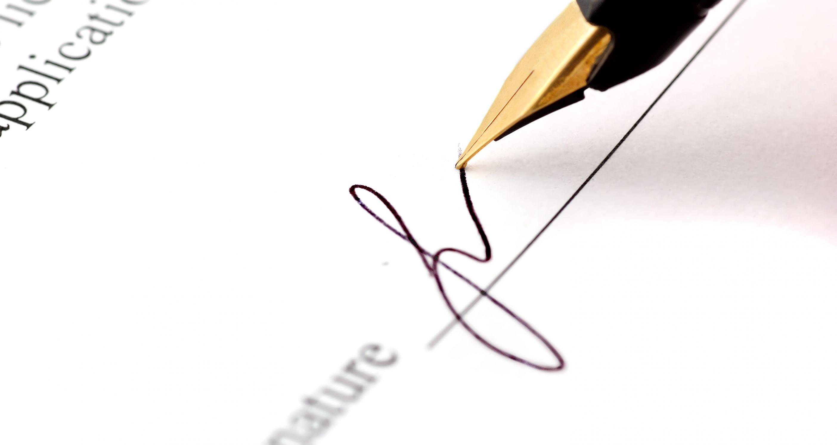 How To Sign A Letter Of Intent