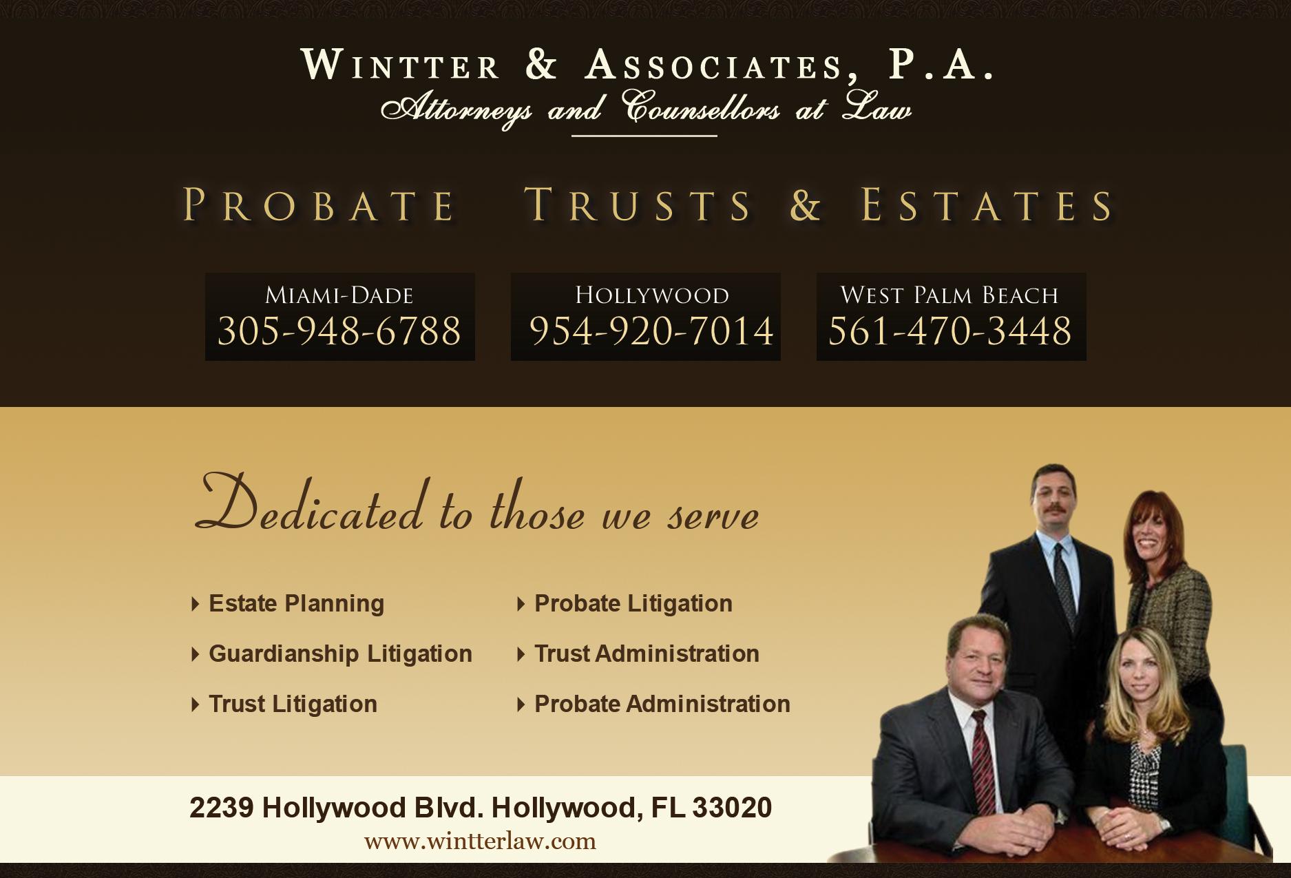 Fort Lauderdale Florida Guardianship Litigation Lawyer – Estate Planning Attorney Palm Beach Gardens