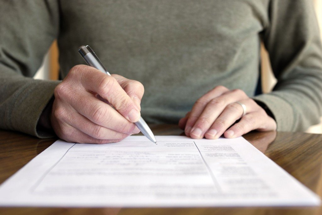 Step One - Write an Inhereitance Disclaimer